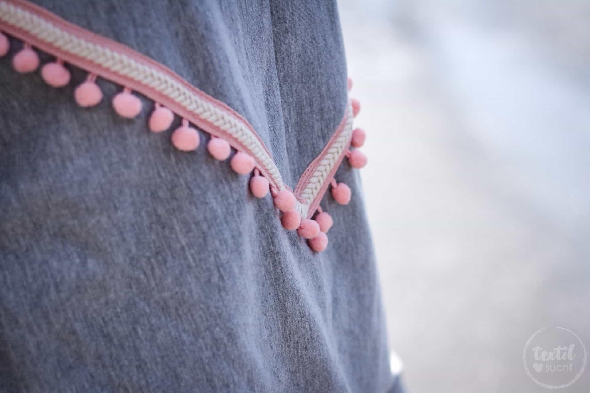 Neues Schnittmuster - Oversize Sweater India - Bild 2 | textilsucht.de