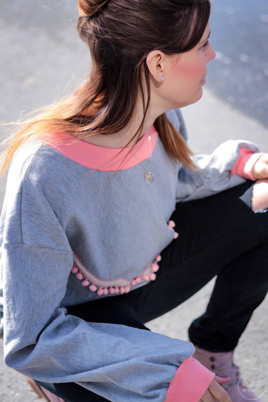 Neues Schnittmuster - Oversize Sweater India - Bild 7 | textilsucht.de