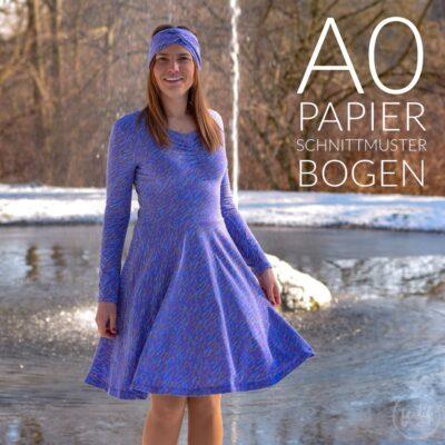 Papierschnittmuster Kleid Cariba
