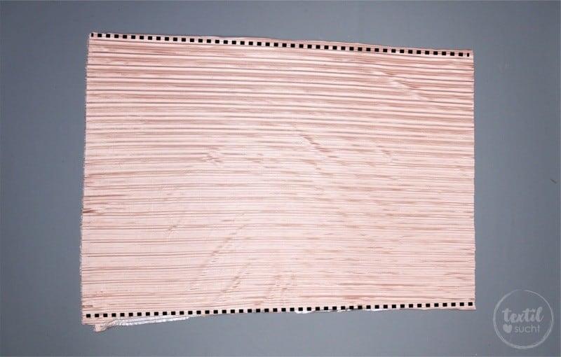 Nähanleitung: Plisseerock ohne Schnittmuster nähen - Bild 2 - Textilsucht.de