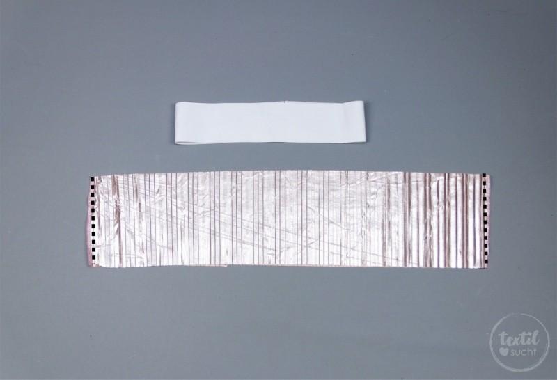 Nähanleitung: Plisseerock ohne Schnittmuster nähen - Bild 3 - Textilsucht.de
