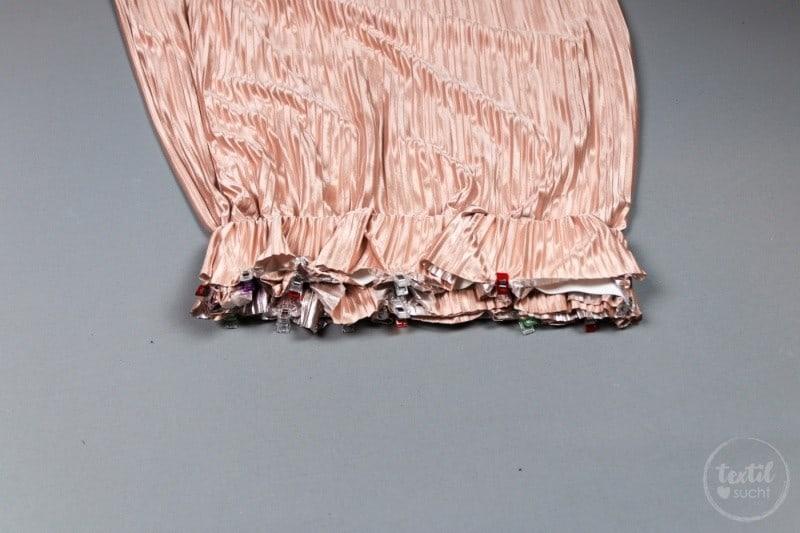 Nähanleitung: Plisseerock ohne Schnittmuster nähen - Bild 4 - Textilsucht.de