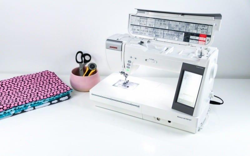 Testbericht: Die Memory Craft 9400 von Jamome - textilsucht.de