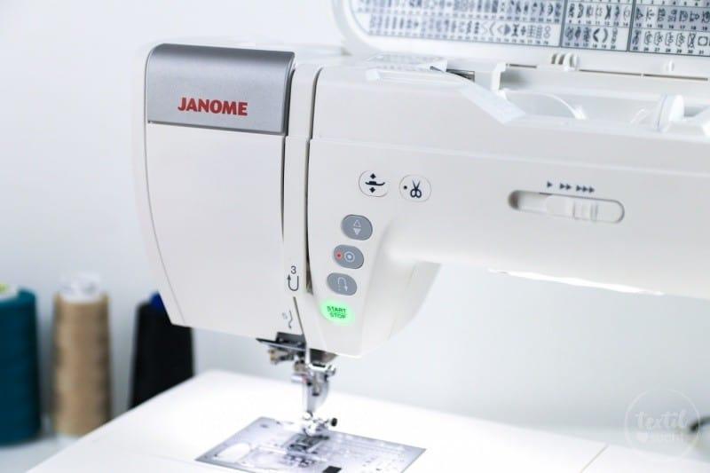 Janome Memory Craft 9400 Testbericht - Bild 8 | textilsucht.de