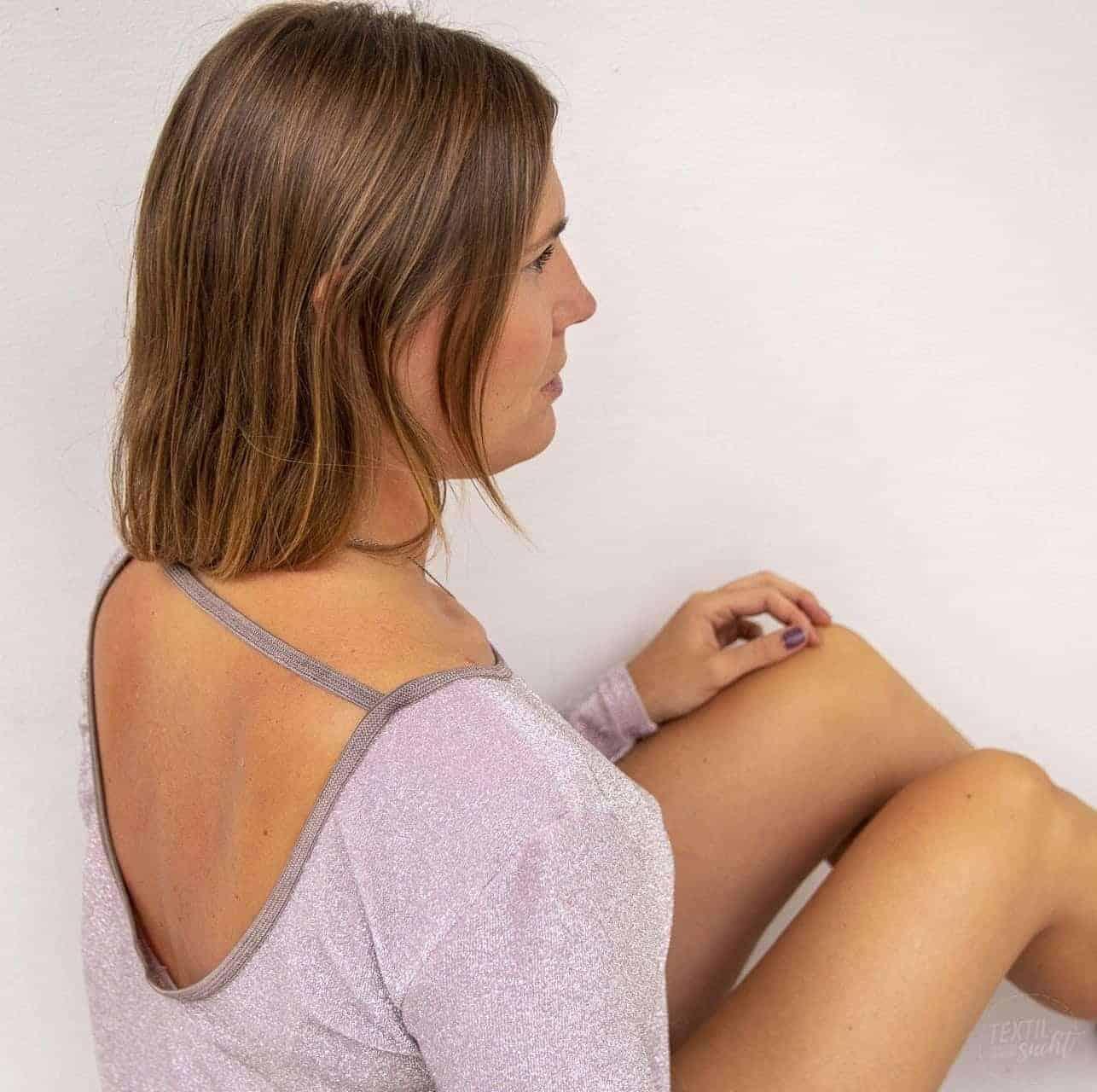 Schnittmuster Longshirt mit Rückenausschnitt