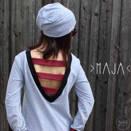 Schnittmuster Longshirt mit Rückenausschnitt - textilsucht (12)