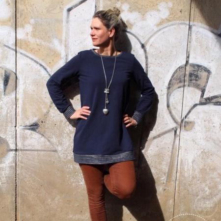 Schnittmuster Longshirt mit Rückenausschnitt - textilsucht (13)
