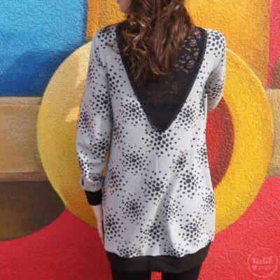 Schnittmuster Longshirt mit Rückenausschnitt - textilsucht (14)