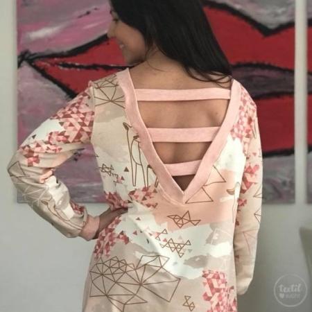 Schnittmuster Longshirt mit Rückenausschnitt - textilsucht (16)