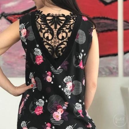 Schnittmuster Longshirt mit Rückenausschnitt - textilsucht (17)
