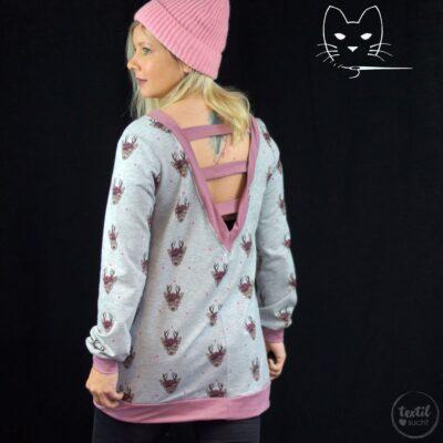 Schnittmuster Longshirt mit Rückenausschnitt - textilsucht (19)