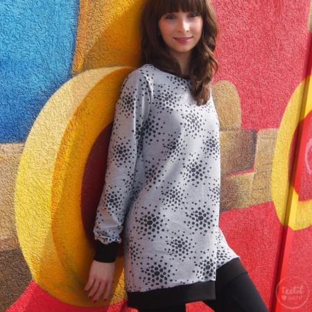 Schnittmuster Longshirt mit Rückenausschnitt - textilsucht (2)