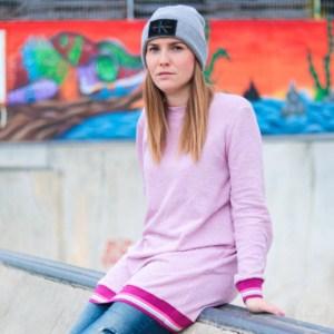 Schnittmuster Longshirt mit Rückenausschnitt - textilsucht (20)