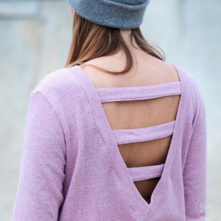 Schnittmuster Longshirt mit Rückenausschnitt - textilsucht (21)