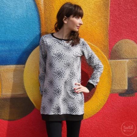 Schnittmuster Longshirt mit Rückenausschnitt - textilsucht (3)