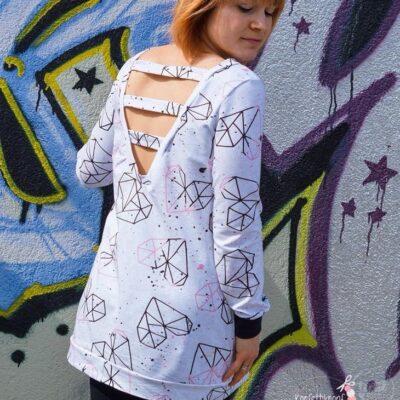 Schnittmuster Longshirt mit Rückenausschnitt - textilsucht (9)