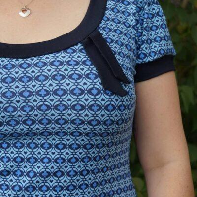 Schnittmuster Shirt Venla Designbeispiel