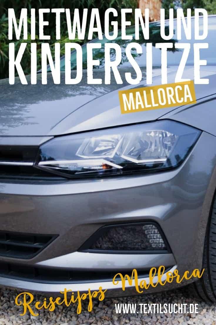 Mietwagen und Kindersitze Mallorca