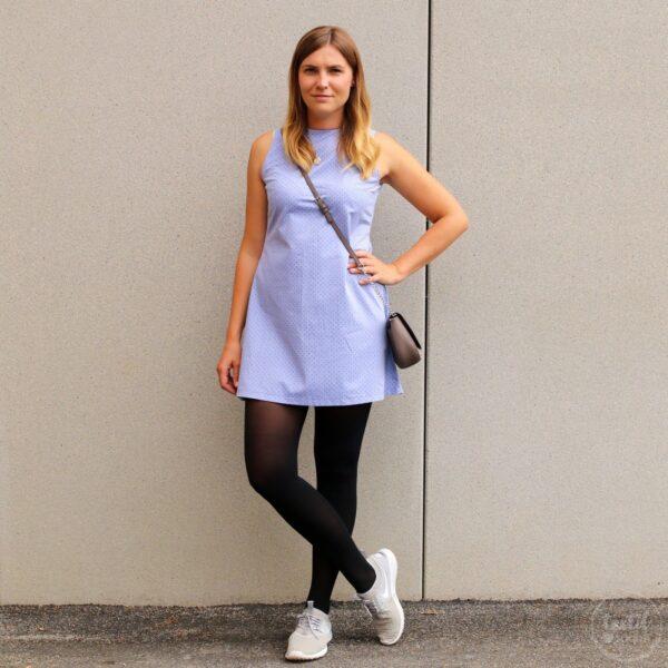 Schnittmuster Kleid Adiva (A-Linie) - textilsucht.de