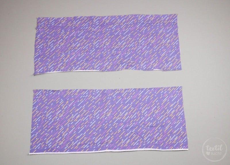 Kostenlose Nähanleitung: Knotenhaarband nähen - Schritt 1 | textilsucht.de