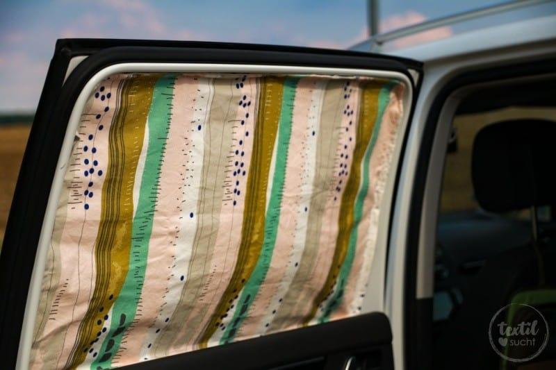 Nähanleitung: Magnetischen Sonnenschutz für's Auto nähen - Bild 1 | textilsucht.de