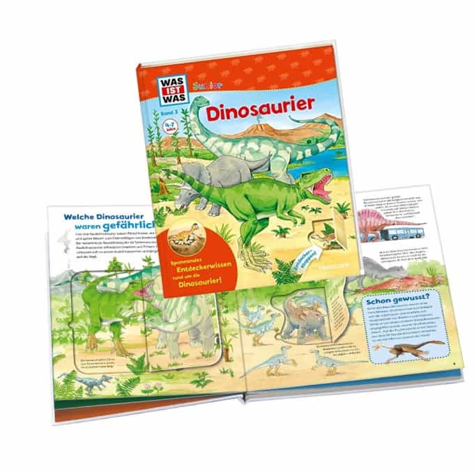 wasistwas junior dinosaurier