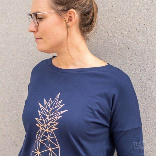 Schnittmuster Basic Longshirt (1)