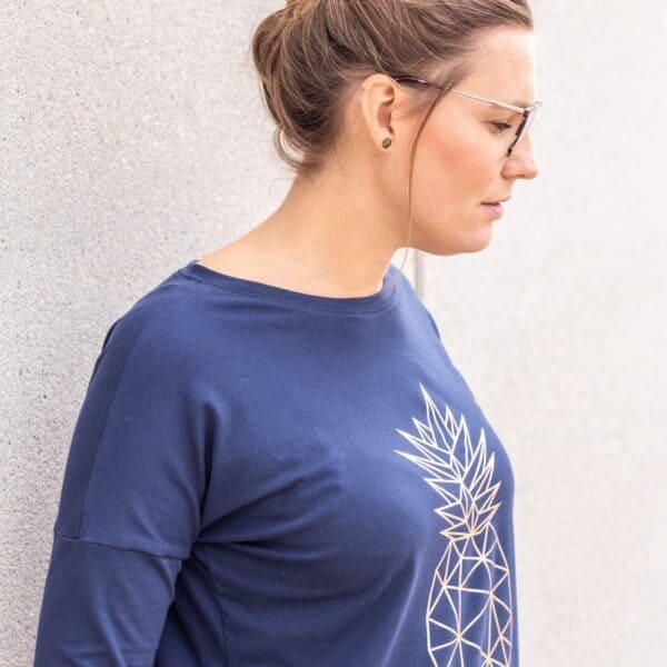 Schnittmuster Basic Longshirt (4)