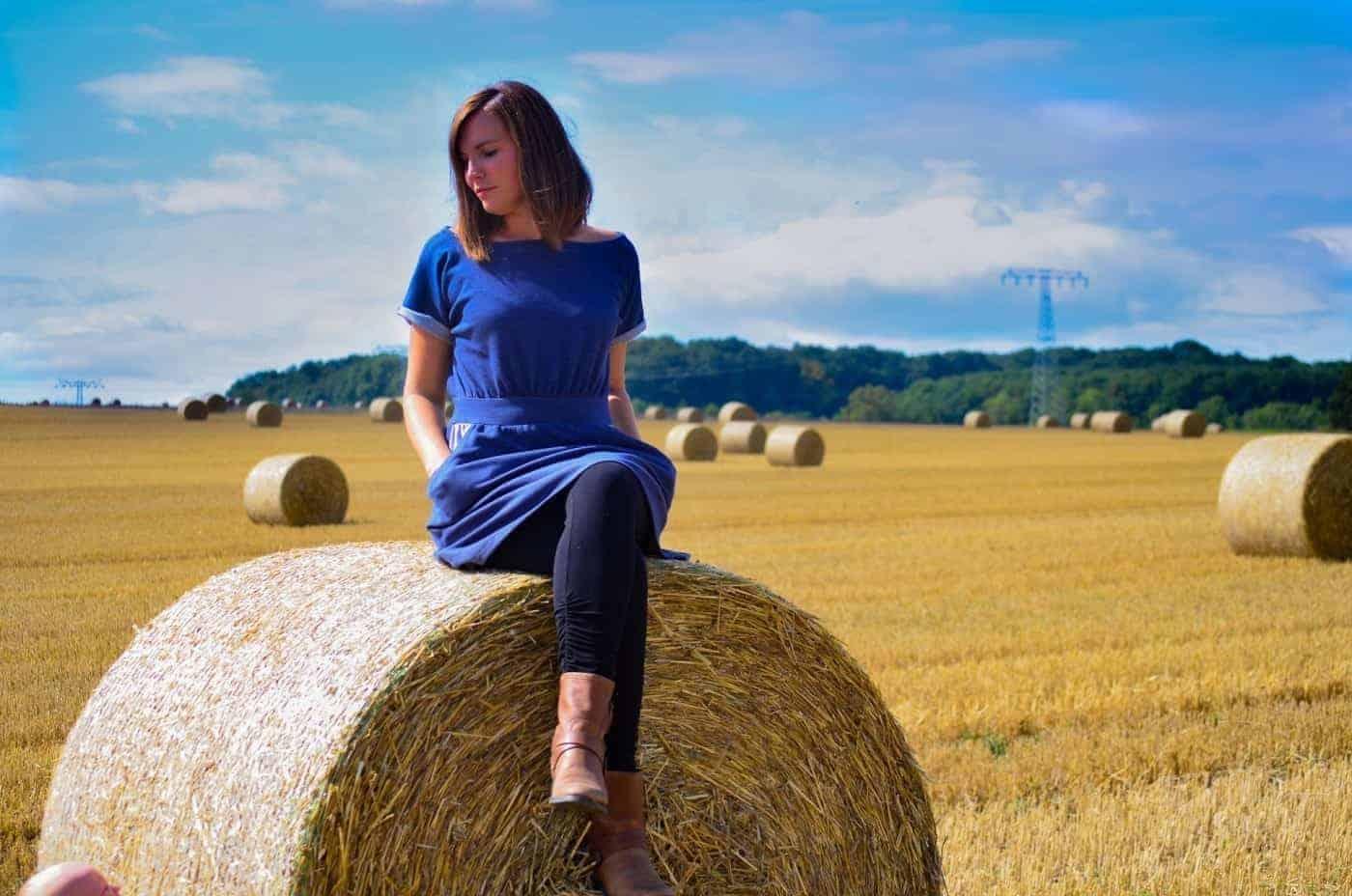 Nähanleitung Herbstkleid: Kostenloses Add-On für mein Schnittmuster Federleicht