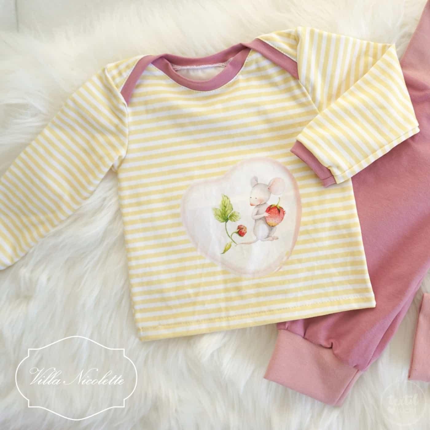 Schnittmuster baby shirt kostenlos downloaden