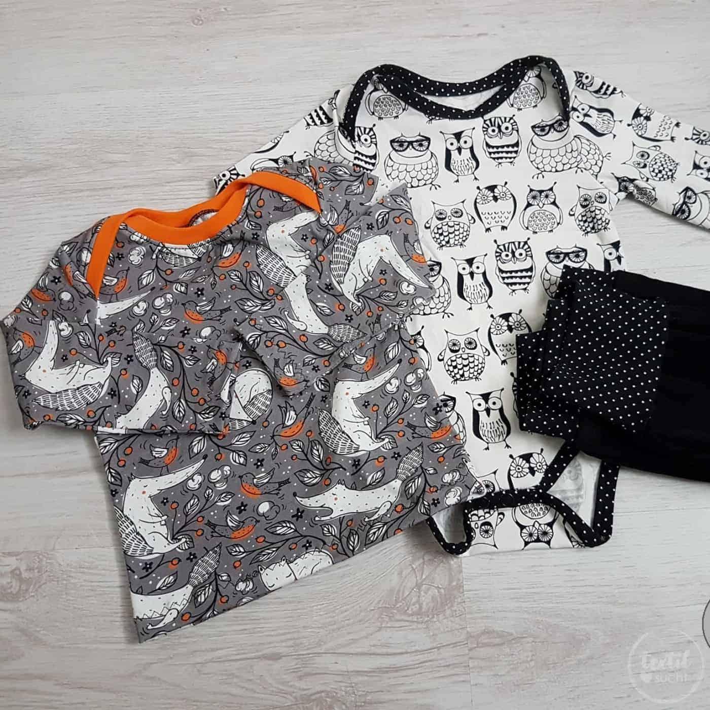 Schnittmuster Shirt und Body fuer Babys (12)