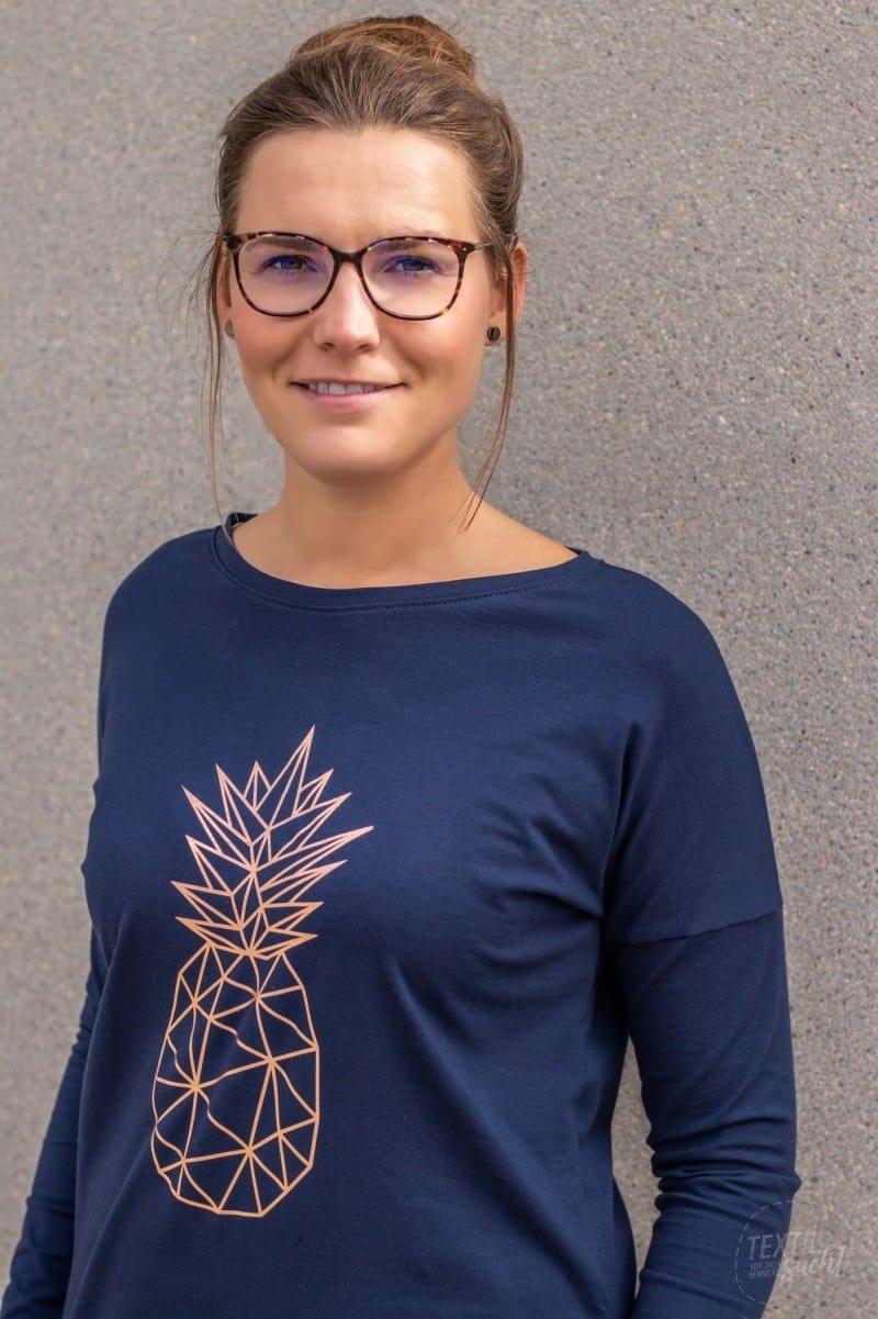 Das Basic Longshirt aus dem SewPack - nachaltige Mode - Bild 1 | textilsucht