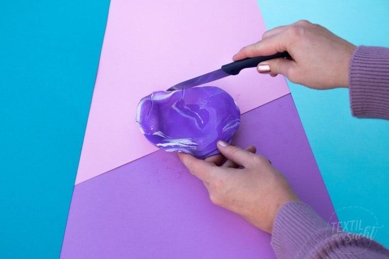 Magnetische Nadelschale aus Fimo basteln - Bild 6   textilsucht.de