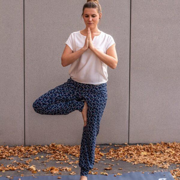 Schnittmuster Yogahose Kavita
