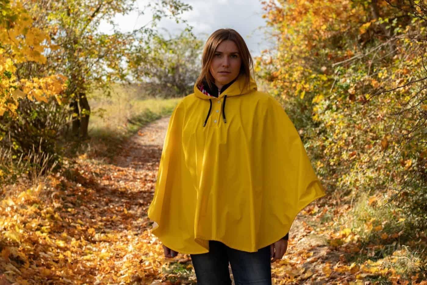 Neues Schnittmuster – Regenponcho für nasse Tage