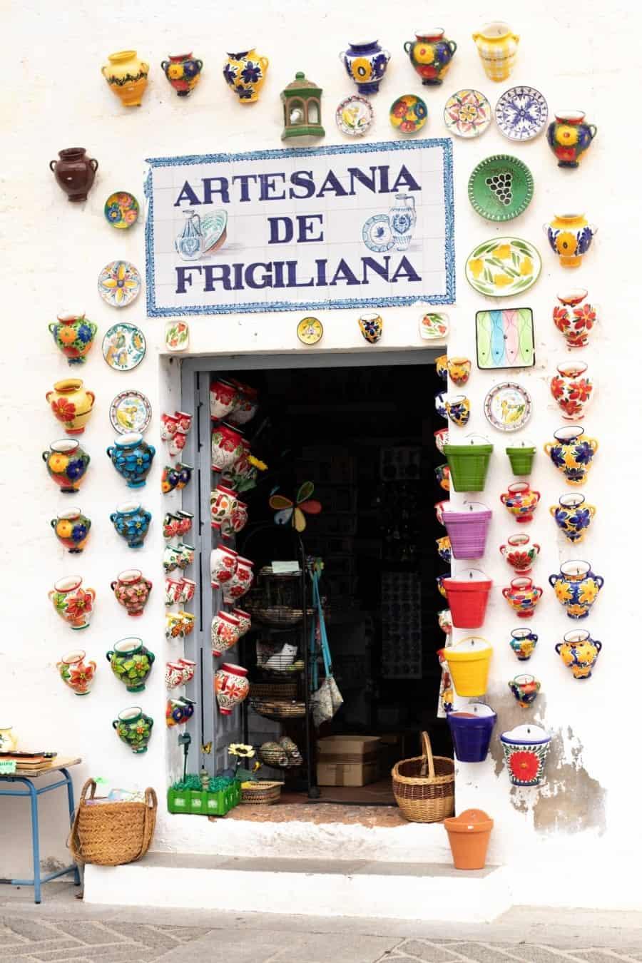 Friggiliana - das schönste Bergdorf Andalusiens -  Bild 4 | textilsucht.de