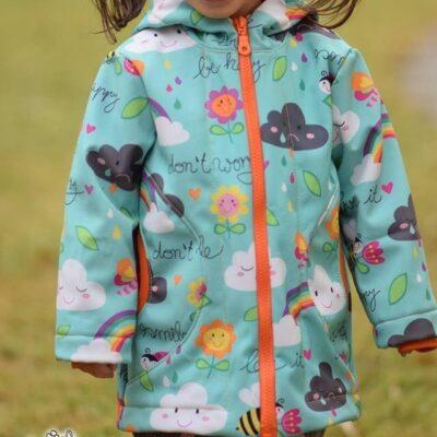 Schnittmuster Outdoorjacke Lenjo für Kinder