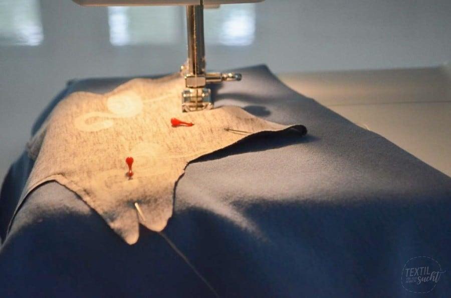Nähanleitung: Wie näht man eine negative Applikation? - Bild 3 - Textilsucht.de