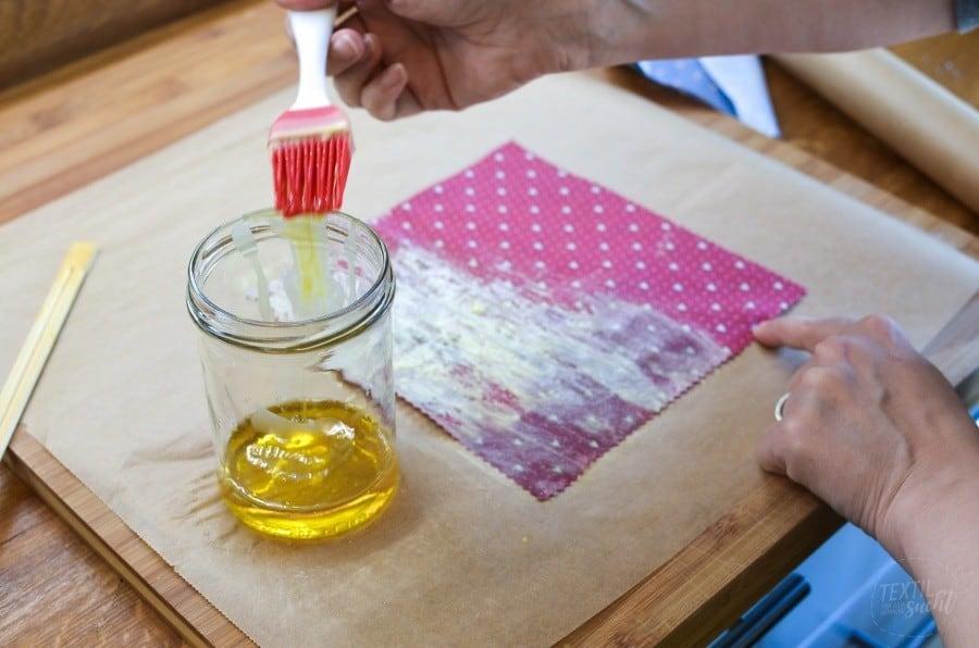 Bienenwachstücher selber machen - Schritt 4 - textilsucht.de