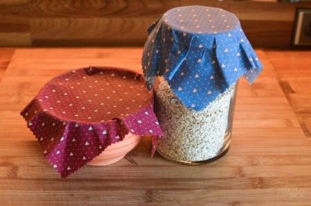Bienenwachstücher selber machen - DIY Anleitung - textilsucht.de