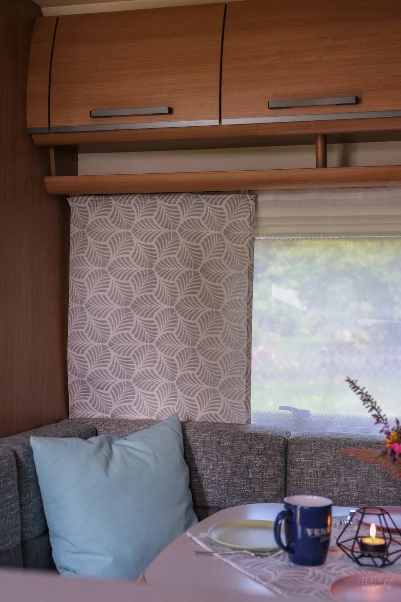 Nähen für Camper - neue Vorhänge im Wohnwagen » Textilsucht®