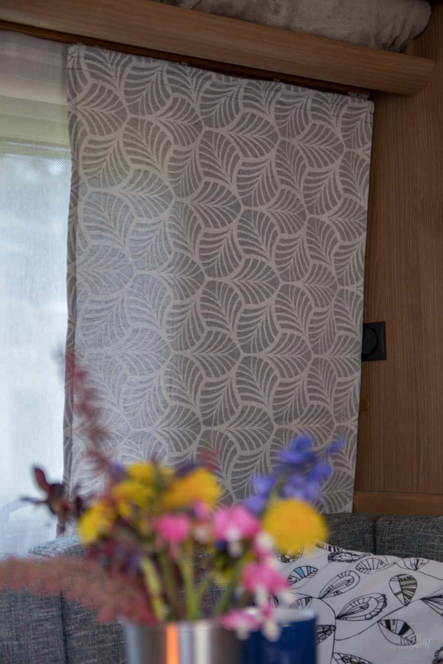 Nähen für den Wohnwagen: Gardinen nähen - Bild 2 - Textilsucht.de