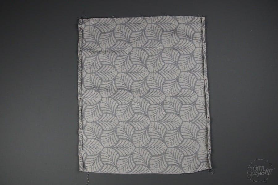 Nähen für den Wohnwagen: Gardinen nähen - Schritt 3 - Textilsucht.de