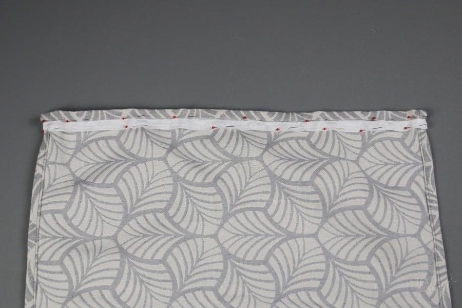 Nähen für den Wohnwagen: Gardinen nähen - Schritt 5 - Textilsucht.de