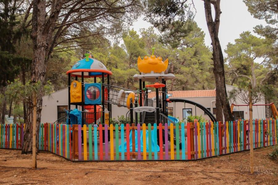 Spielplatz - Camping Čikat