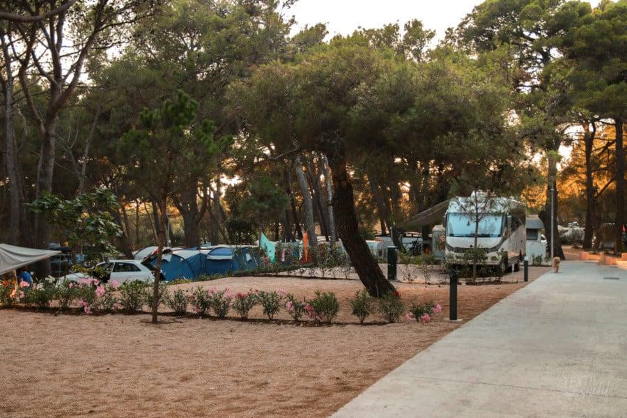 Stellplätze - Camping Čikat