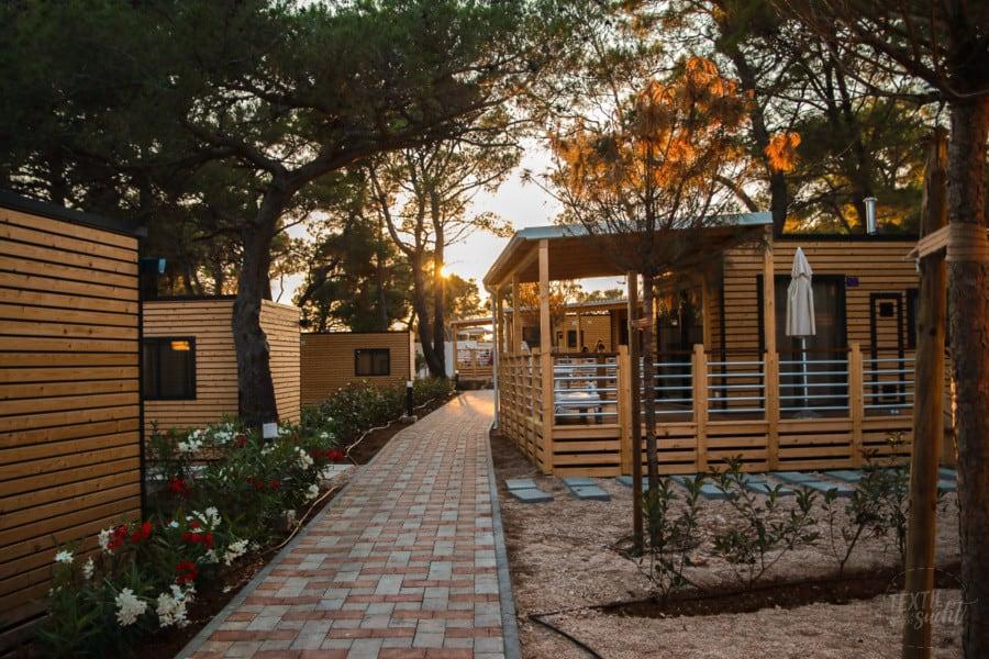 Ferienhäuser - Camping Čikat