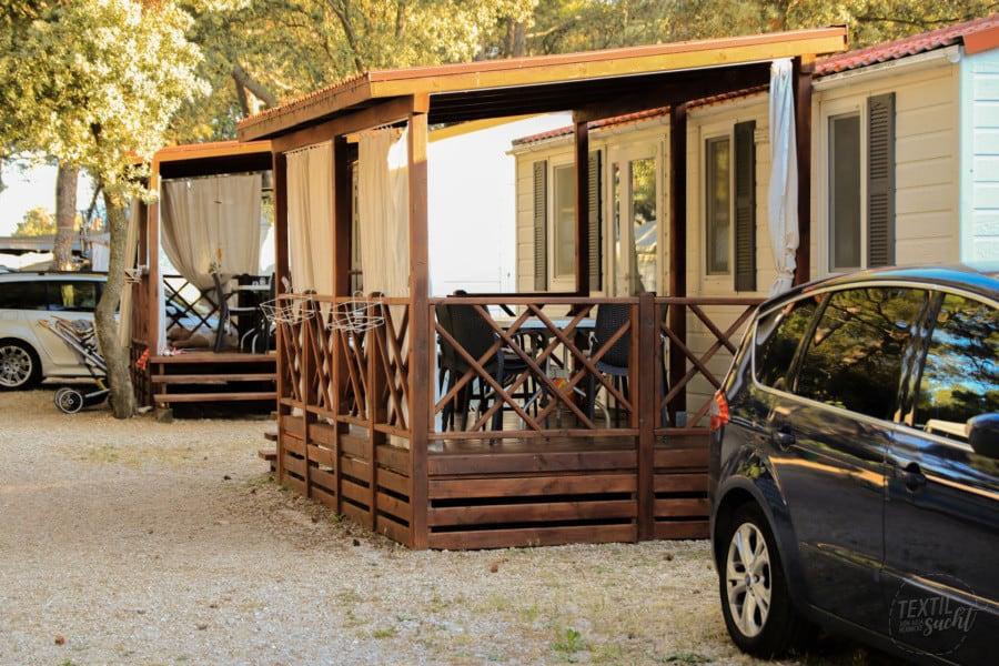 Campingplätze Kroatien: Camping Rapoća - Ferienhäuser