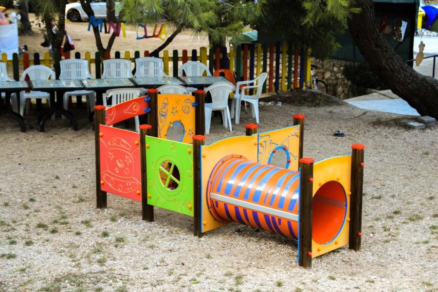 Campingplätze Kroatien: Camping Rapoća - Spielplatz