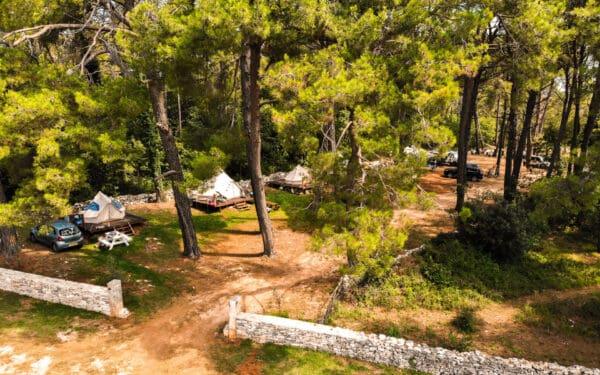 Campingplatztest Kroatien: Camp Dvor